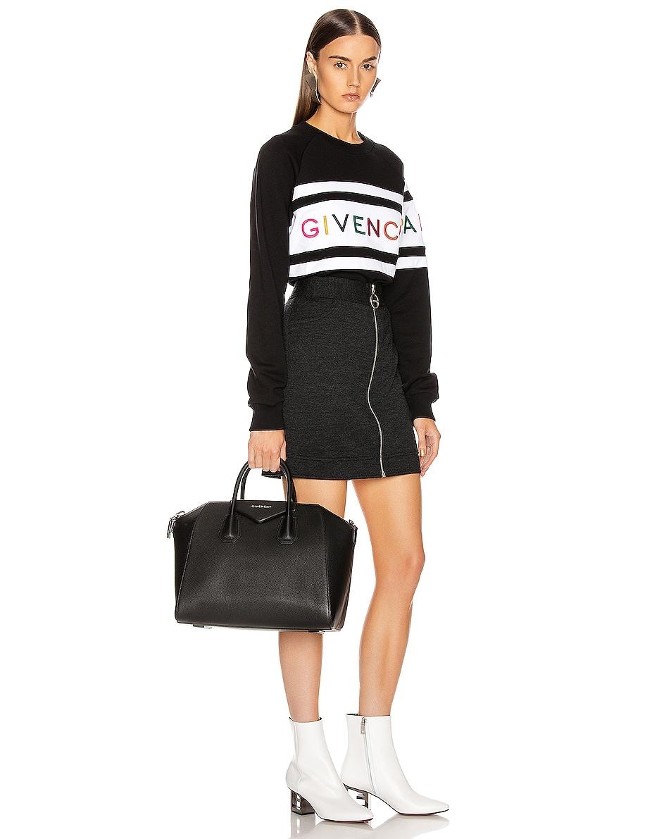 Image 2 of Givenchy Medium Sugar Antigona in Black