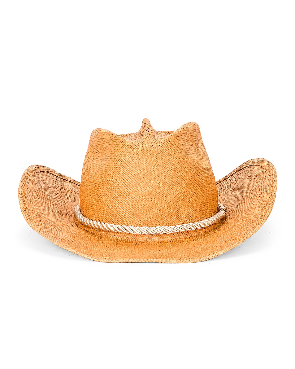 Image 1 of Gladys Tamez Millinery Zuma Cowboy Hat in Champagne