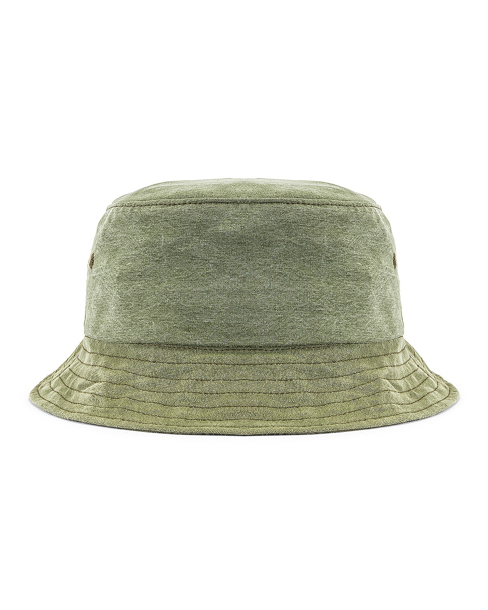 Image 4 of Greg Lauren GL Army Bucket Hat in Army