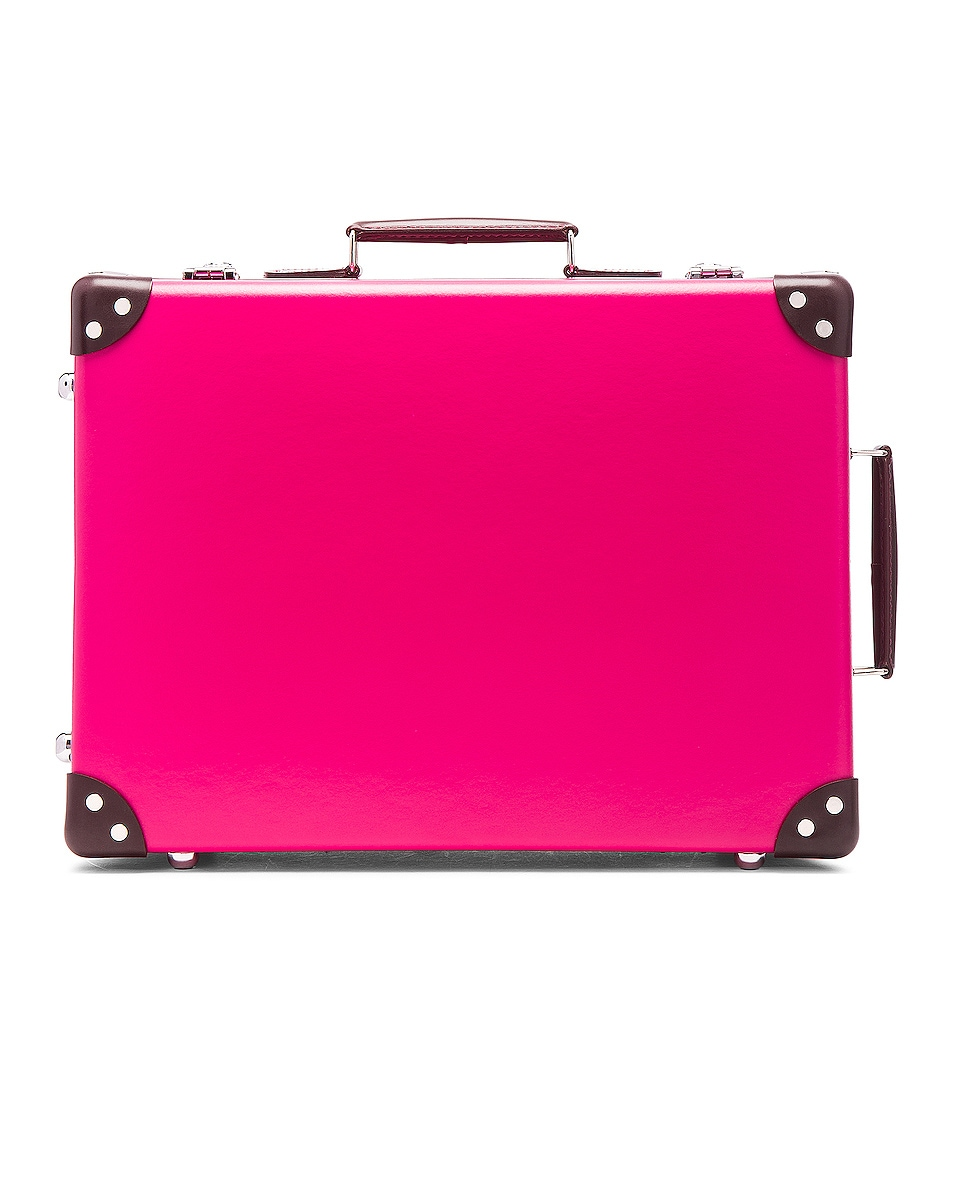 """Image 1 of Globe-Trotter 18"""" Candy Trolley Case in Pink"""