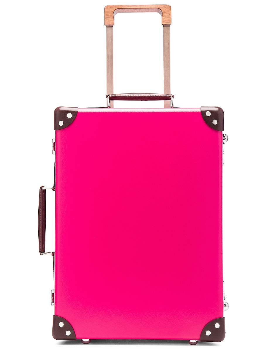 """Image 5 of Globe-Trotter 18"""" Candy Trolley Case in Pink"""