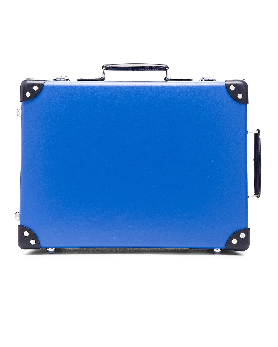 """Image 1 of Globe-Trotter 18"""" Cruise Trolley Case in Navy & Royal"""