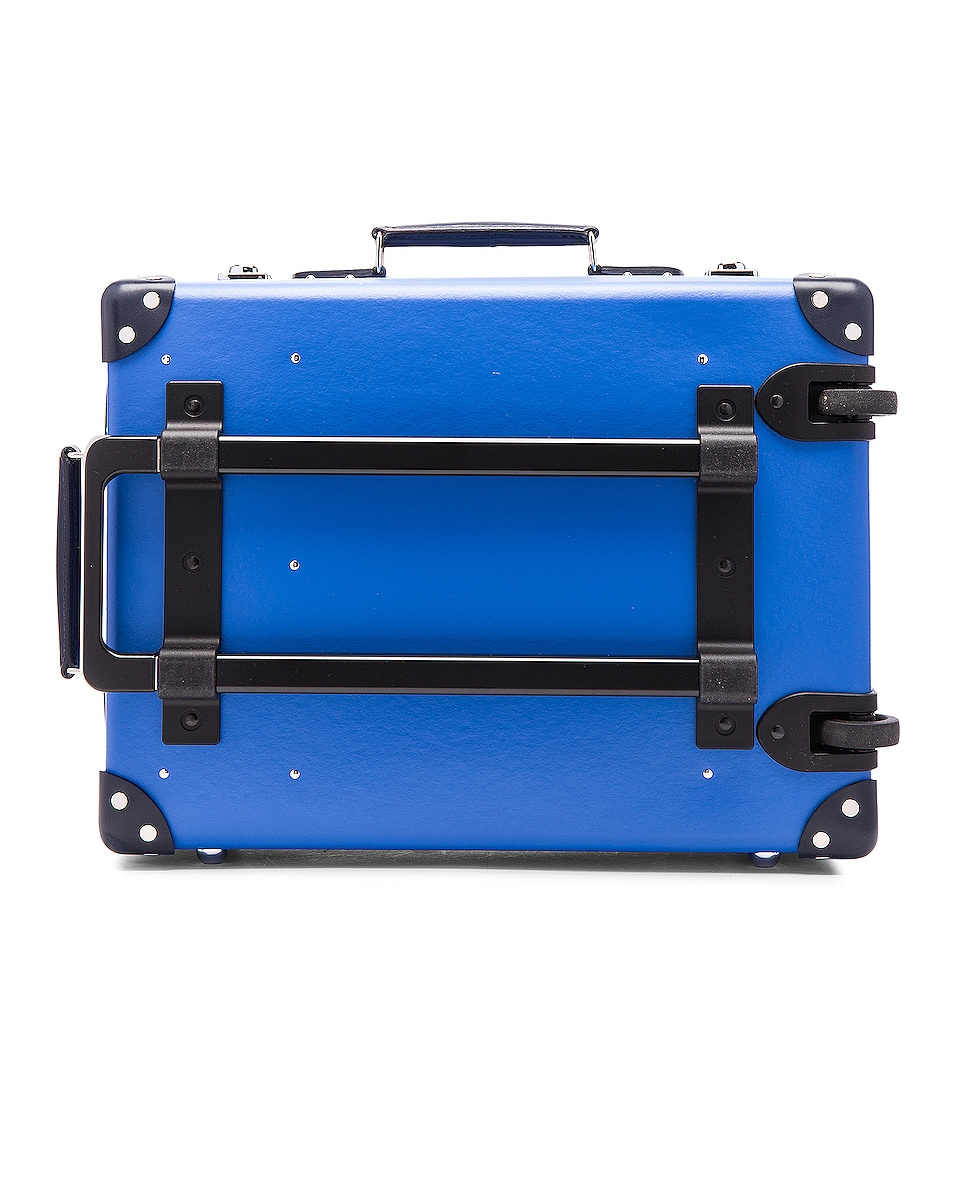 """Image 2 of Globe-Trotter 18"""" Cruise Trolley Case in Navy & Royal"""