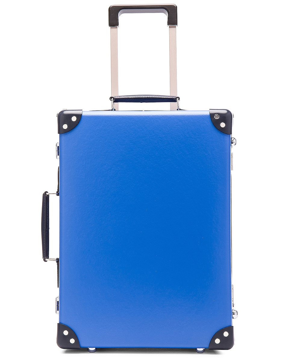 """Image 5 of Globe-Trotter 18"""" Cruise Trolley Case in Navy & Royal"""