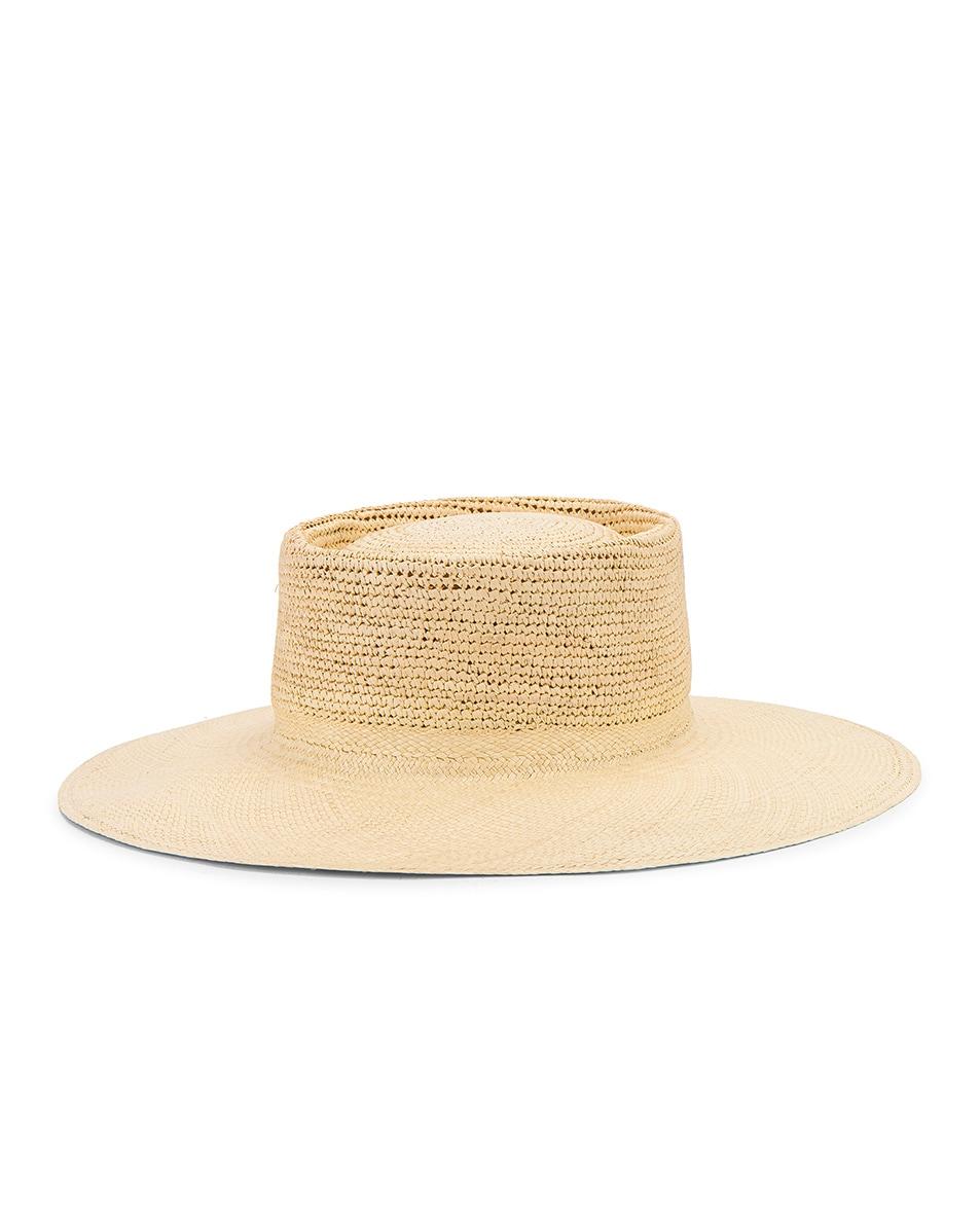 Image 3 of Greenpacha Cap Ferret Hat in Natural