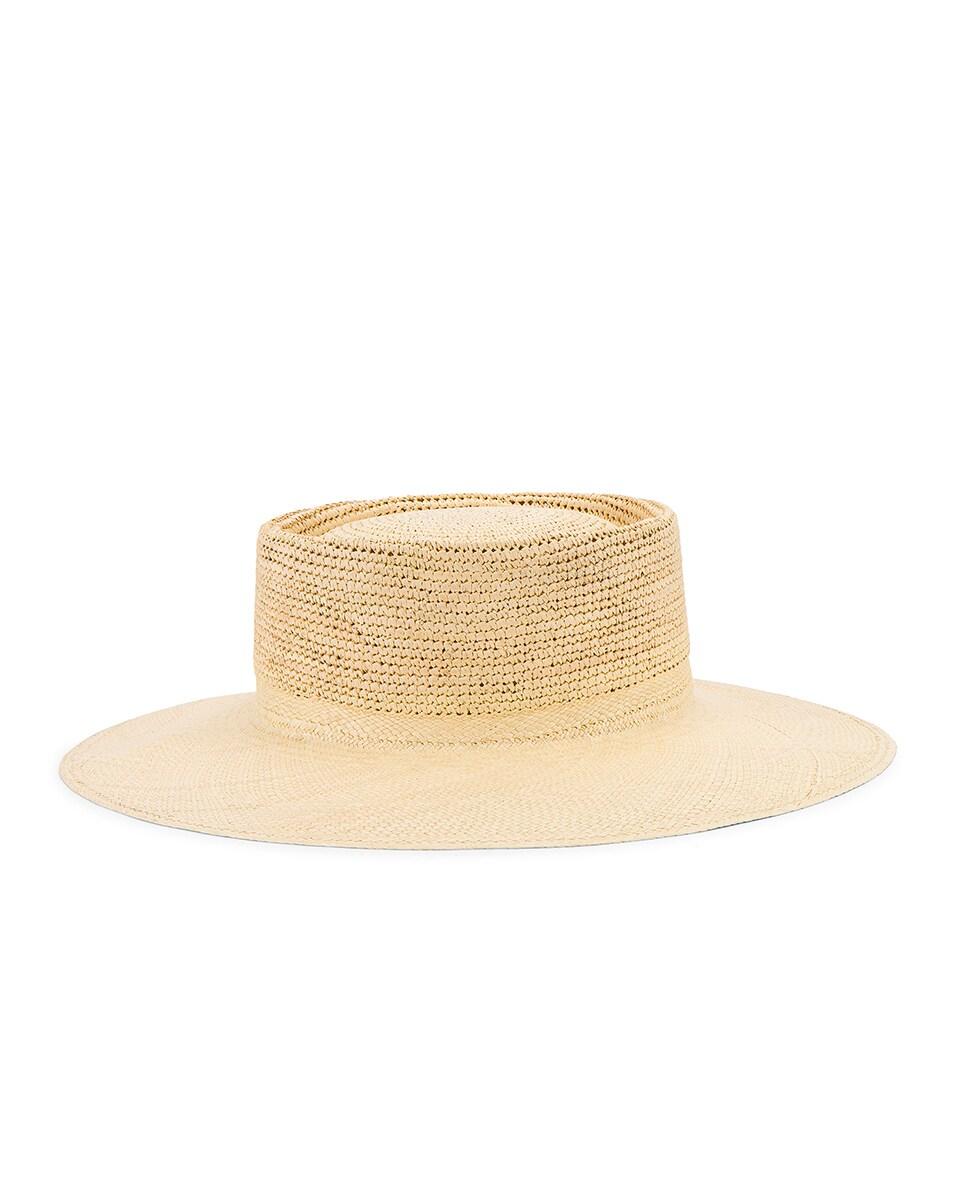 Image 4 of Greenpacha Cap Ferret Hat in Natural