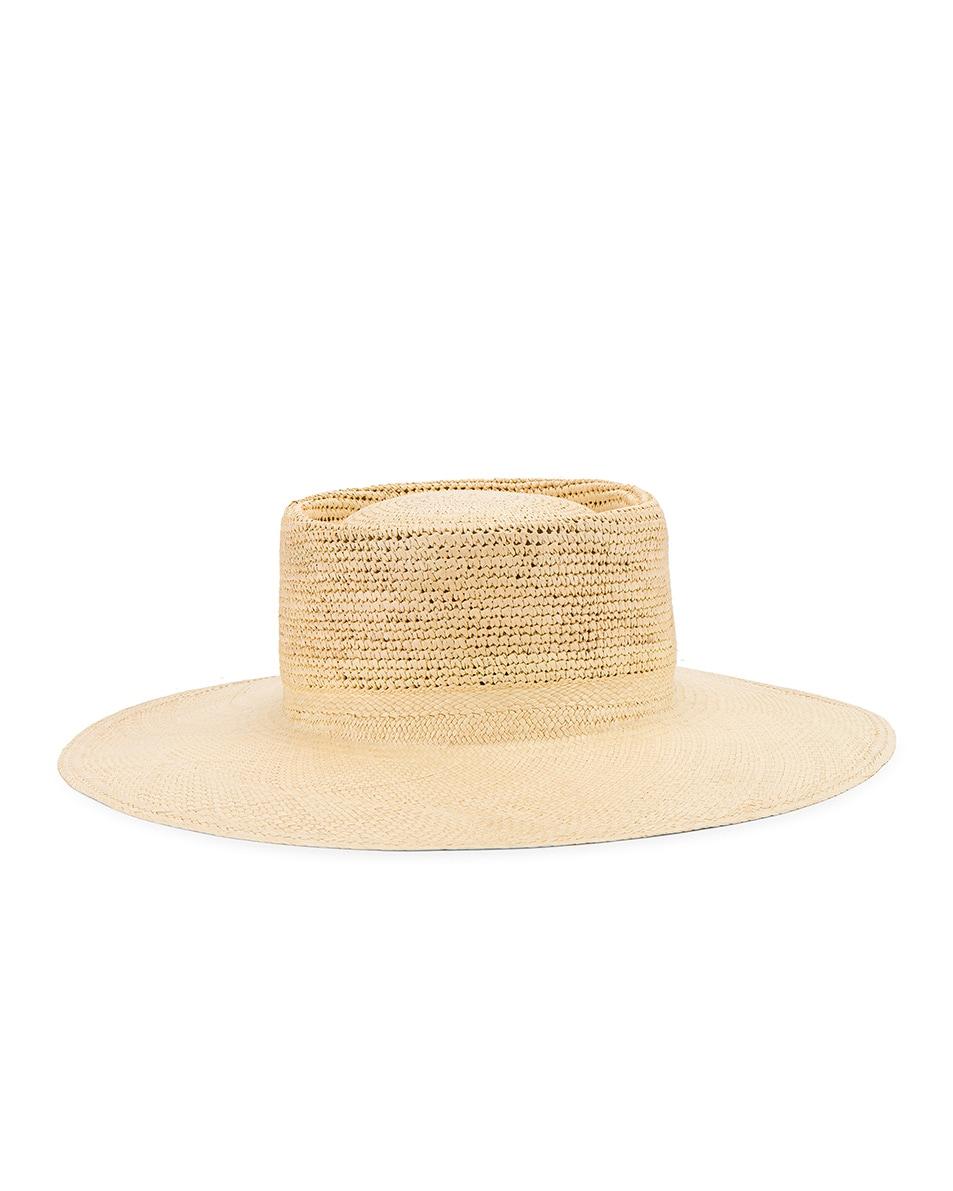 Image 5 of Greenpacha Cap Ferret Hat in Natural