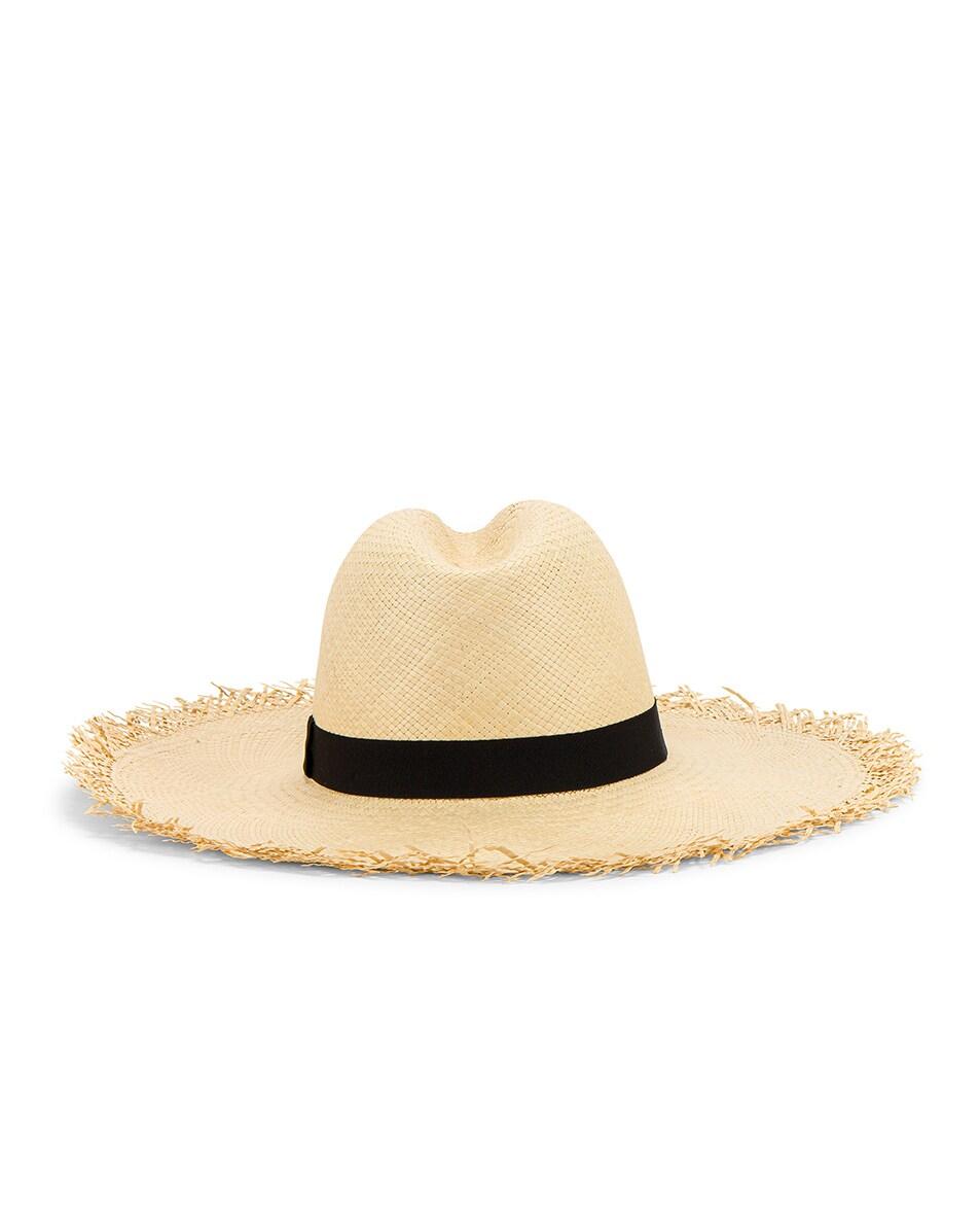Image 5 of Greenpacha Montauk Hat in Natural & Black