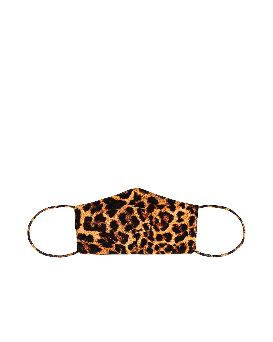 Image 1 of GRLFRND Protective Face Masks in Leopard