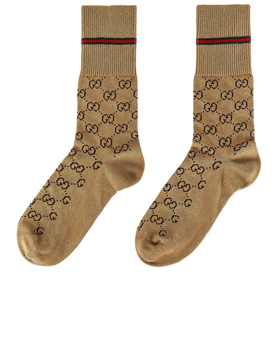 Image 2 of Gucci Socks in Brown