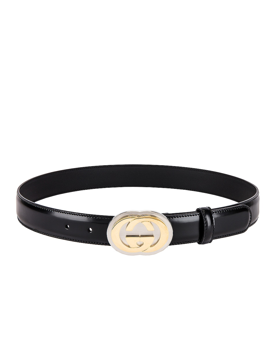 Image 2 of Gucci Belt in Black
