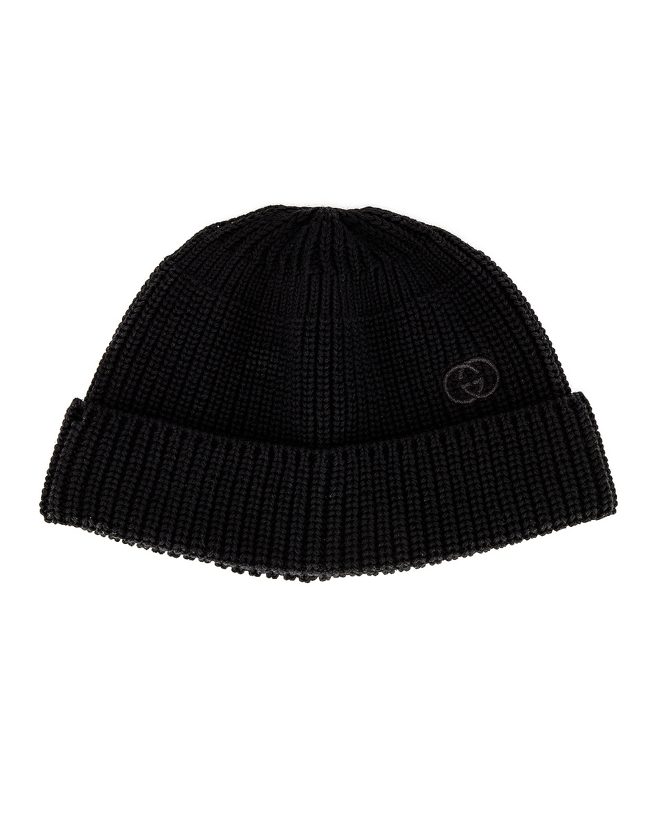 Image 1 of Gucci Beanie in Black
