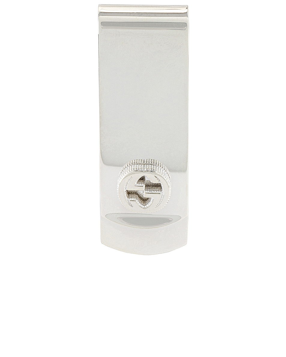 Image 1 of Gucci Money Clip In Silver in Silver