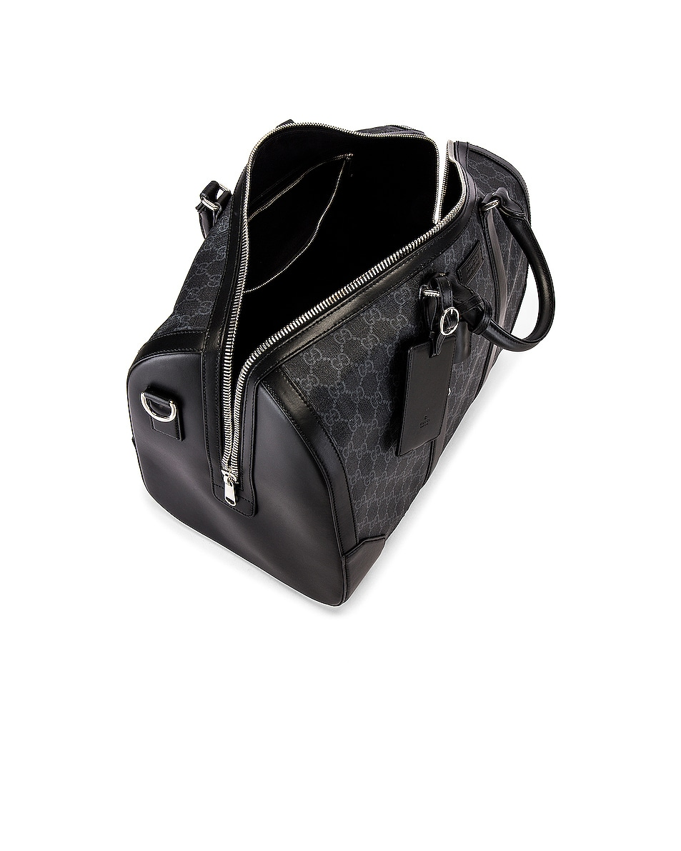Image 4 of Gucci Duffel Bag in Black
