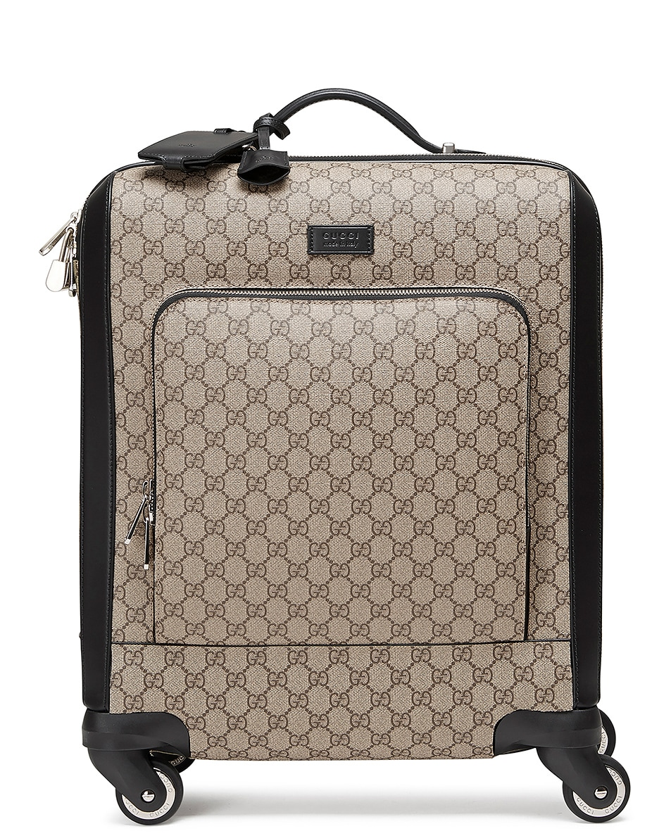 Image 1 of Gucci Gg Supreme Carry-On In Brown in Brown