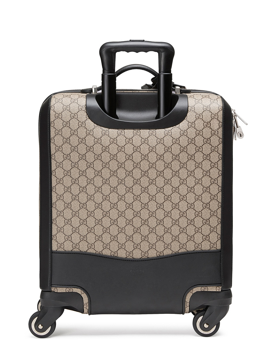 Image 2 of Gucci Gg Supreme Carry-On In Brown in Brown