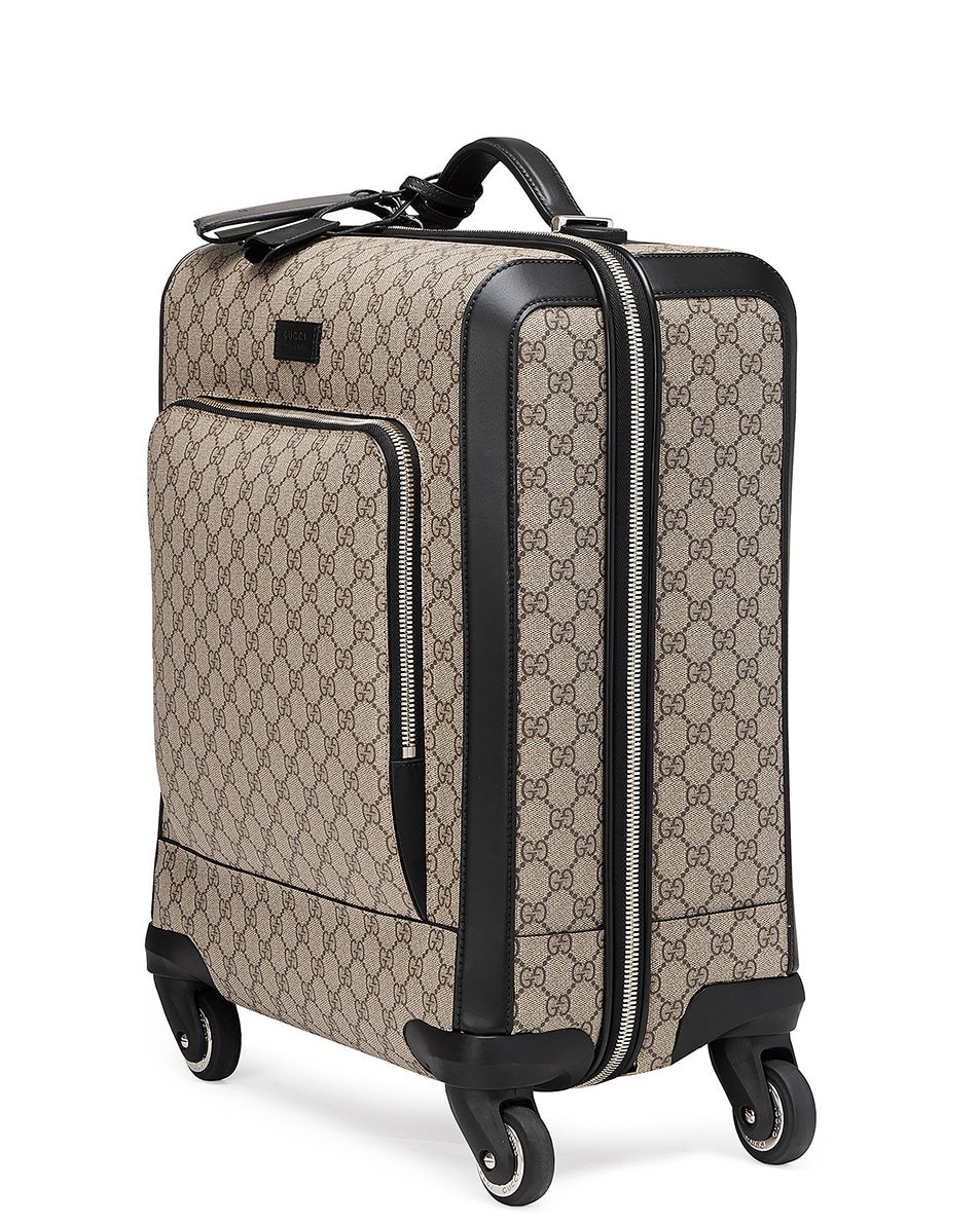 Image 3 of Gucci Gg Supreme Carry-On In Brown in Brown
