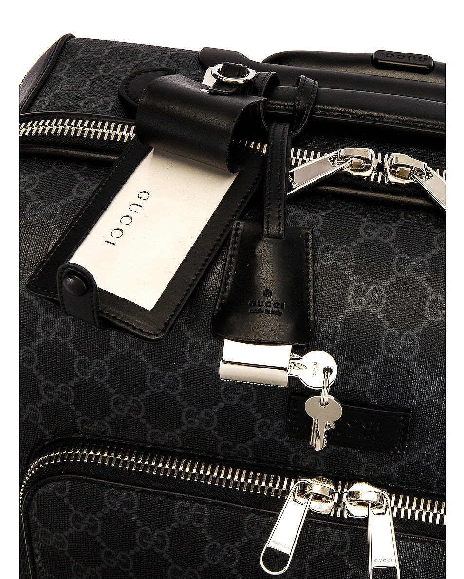 Image 4 of Gucci Carry On Luggage in Black