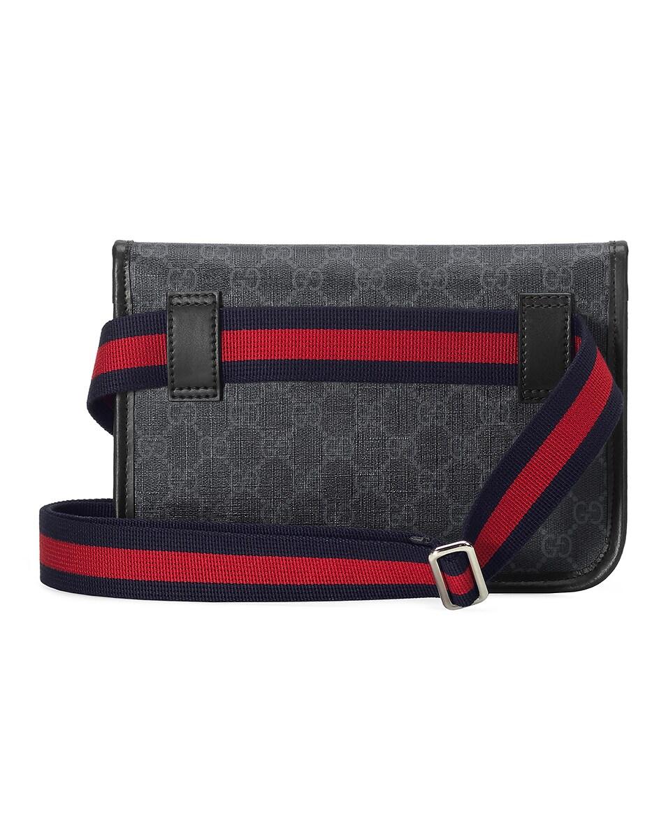 Image 2 of Gucci GG Supreme Belt Bag In Black in Black