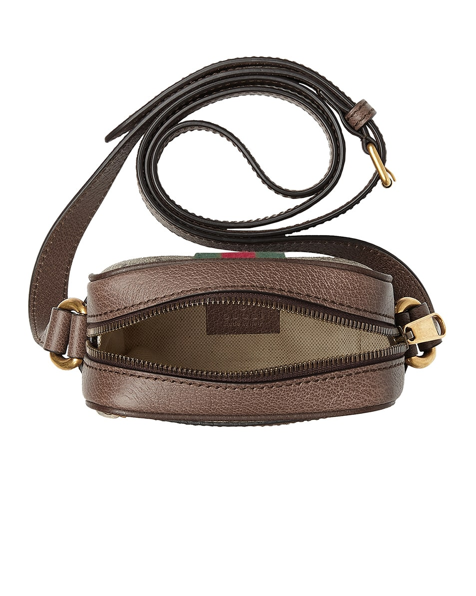 Image 4 of Gucci GG Shoulder Bag In Beige Ebony & Green & Red in Beige Ebony & Green & Red