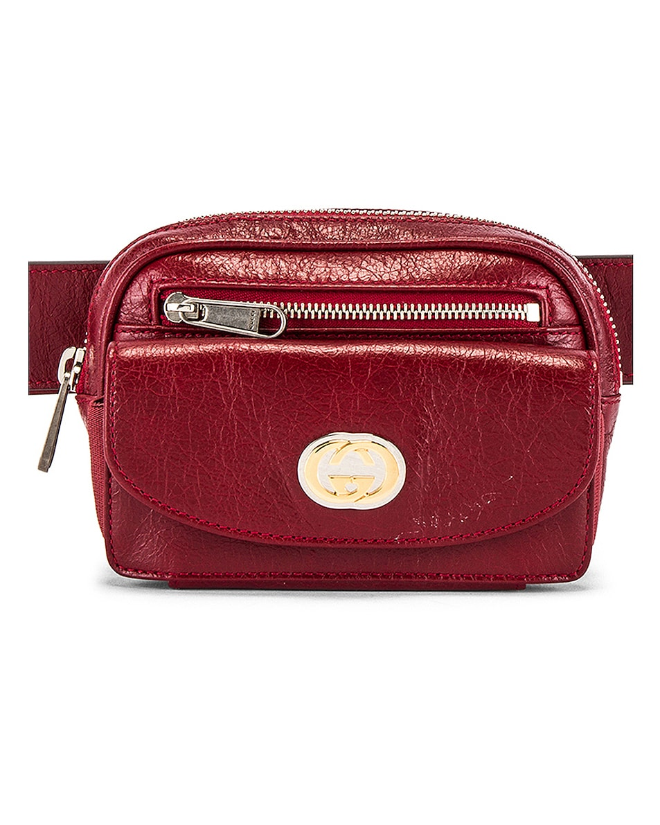 Image 1 of Gucci Belt Bag in Red