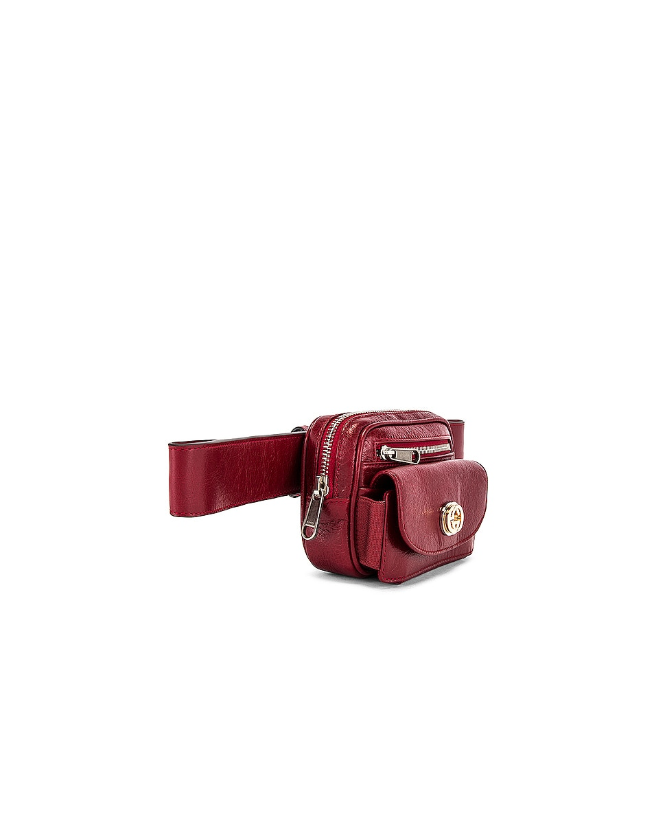 Image 3 of Gucci Belt Bag in Red