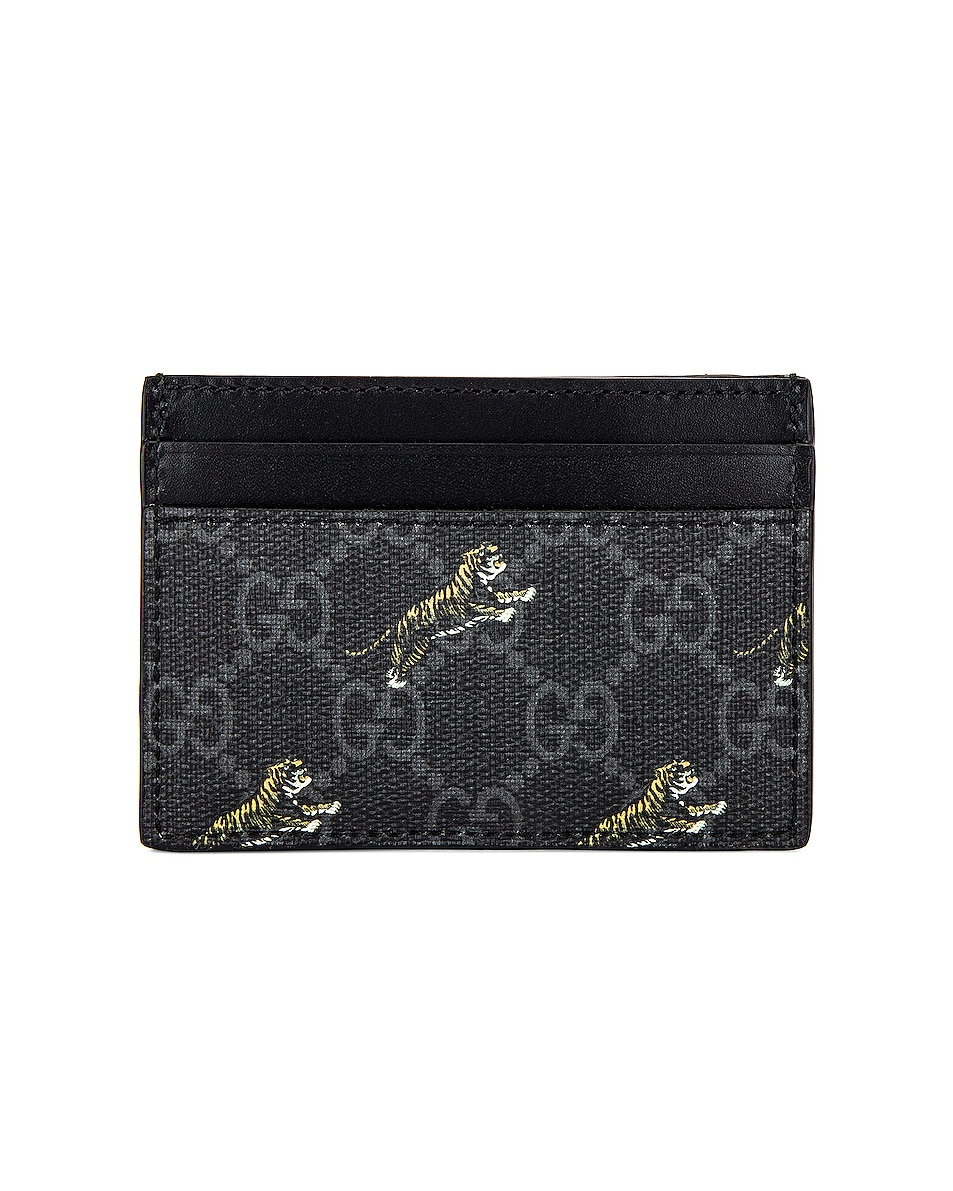 Image 2 of Gucci Wallet in Black & Multi