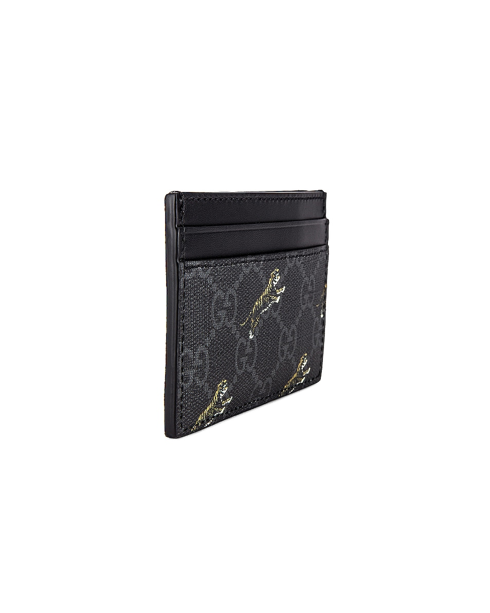Image 3 of Gucci Wallet in Black & Multi