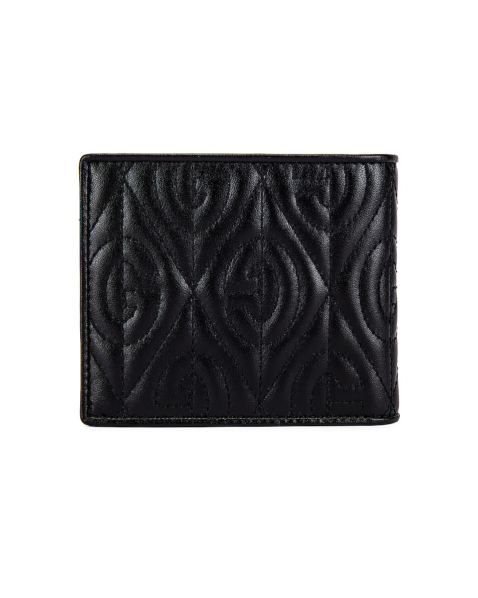 Image 2 of Gucci Billfold Wallet in Black