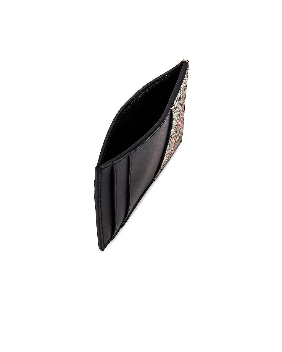 Image 4 of Gucci Card Holder in Beige Ebony & Mutli & Black