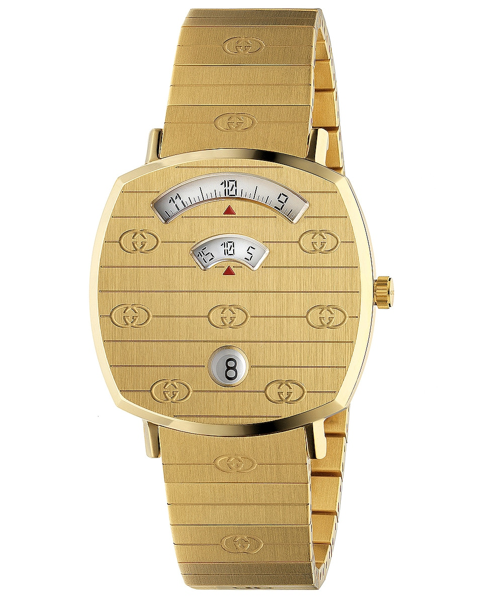 Image 1 of Gucci Grip Watch in Gold