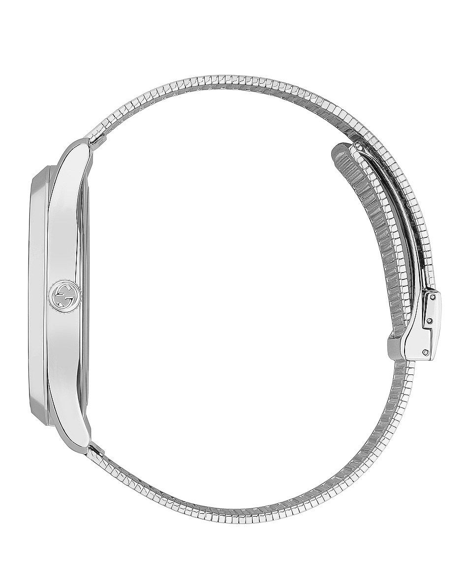 Image 3 of Gucci G-Timeless Contemporary 42mm Watch in Silver