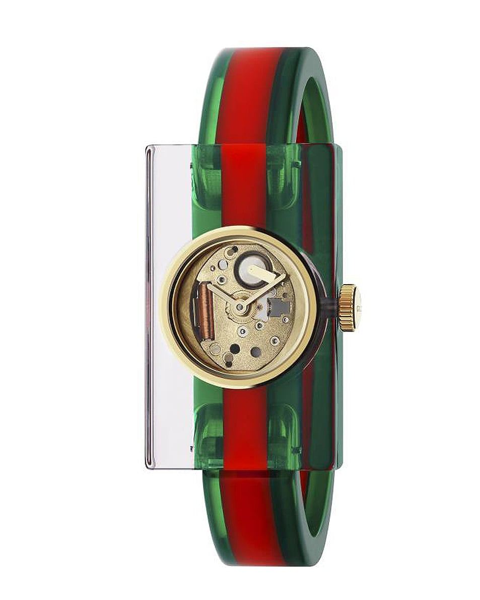 Image 1 of Gucci Vintage Web 24 x 40mm Watch in Resin