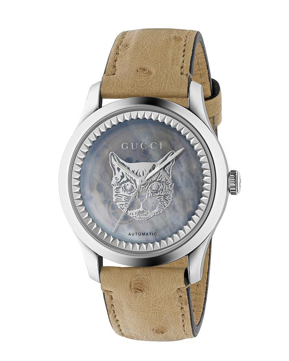 Image 1 of Gucci G Timeless Automatic 38mm Watch in Ostrich