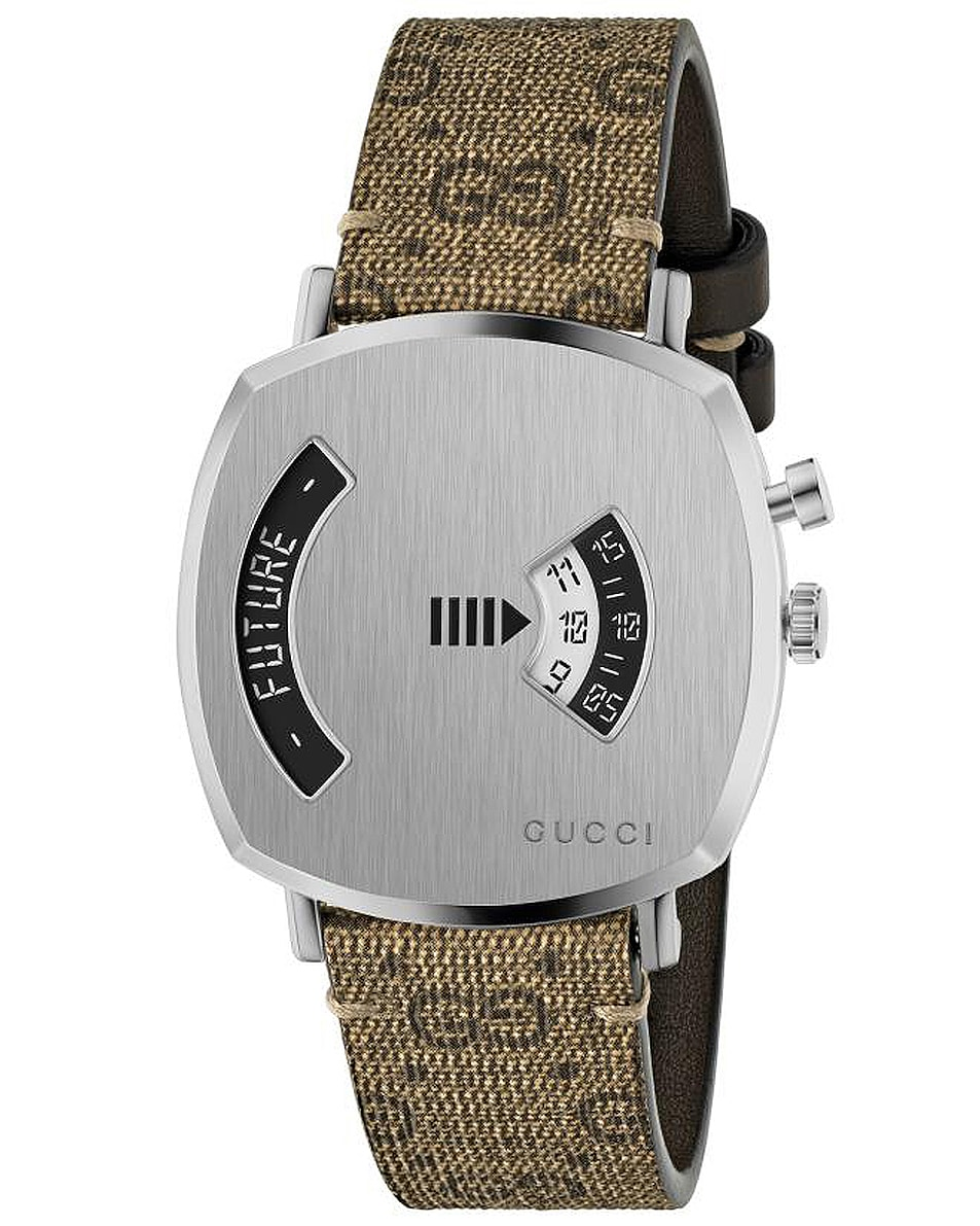 Image 1 of Gucci Grip Watch in Silver