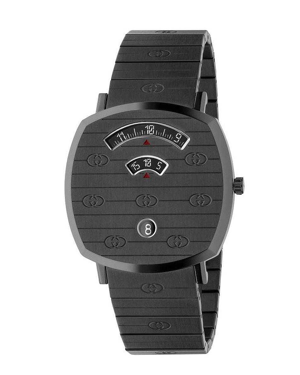 Image 1 of Gucci Grip Watch in Black