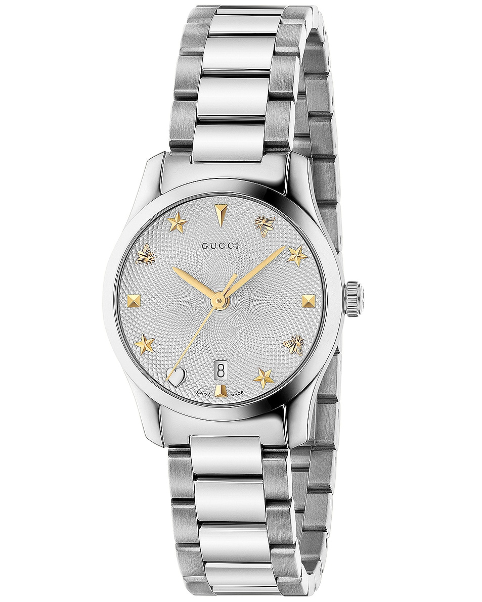 Image 1 of Gucci G-Timeless 27mm Watch in Steel