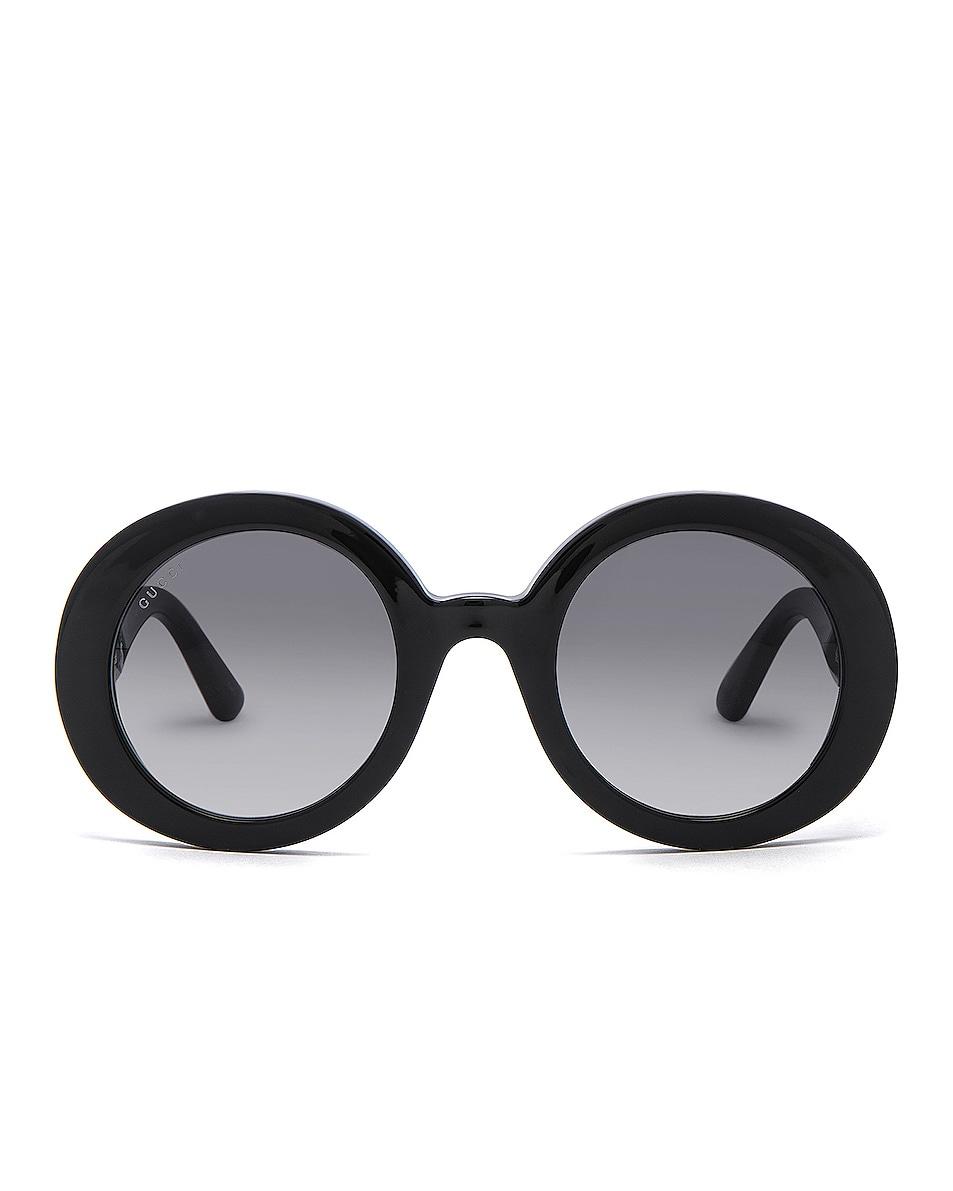 Image 1 of Gucci GG Acetate Sunglasses in Black