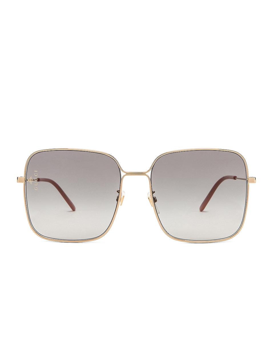 Image 1 of Gucci Square Sunglasses in Grey