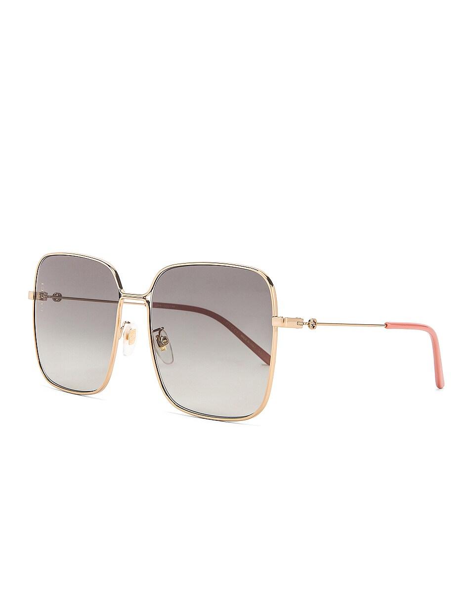 Image 2 of Gucci Square Sunglasses in Grey