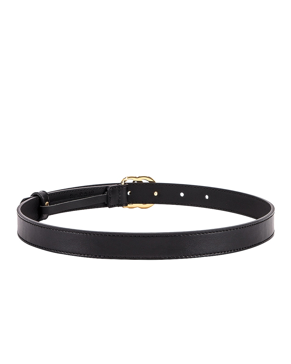Image 3 of Gucci GG Marmont Belt in Black
