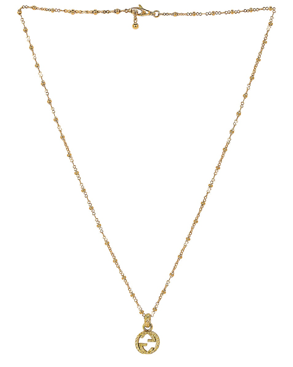 Image 1 of Gucci GG Necklace in Yellow Gold