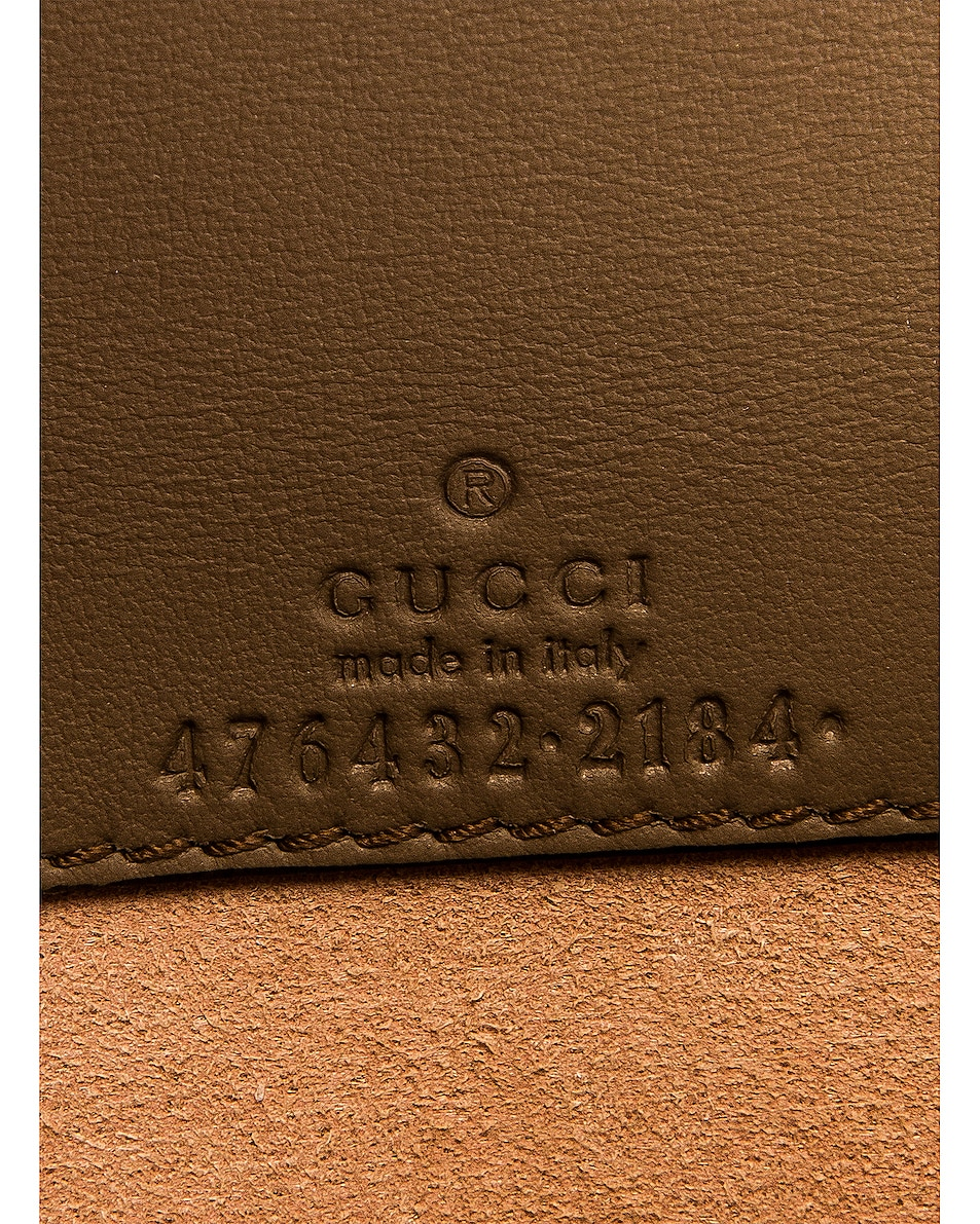 Image 7 of Gucci Super Mini Dionysus GG Chain Bag in Beige Ebony & Taupe