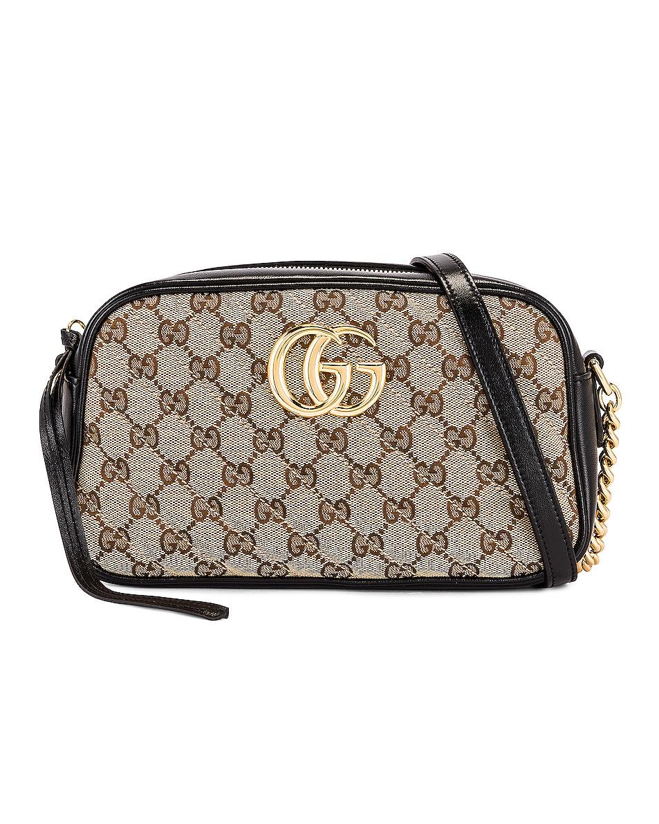 Image 1 of Gucci Shoulder Bag in Beige Ebony & Nero