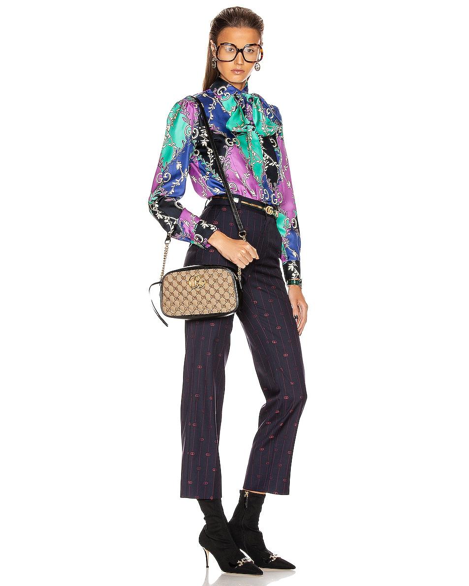 Image 2 of Gucci Shoulder Bag in Beige Ebony & Nero