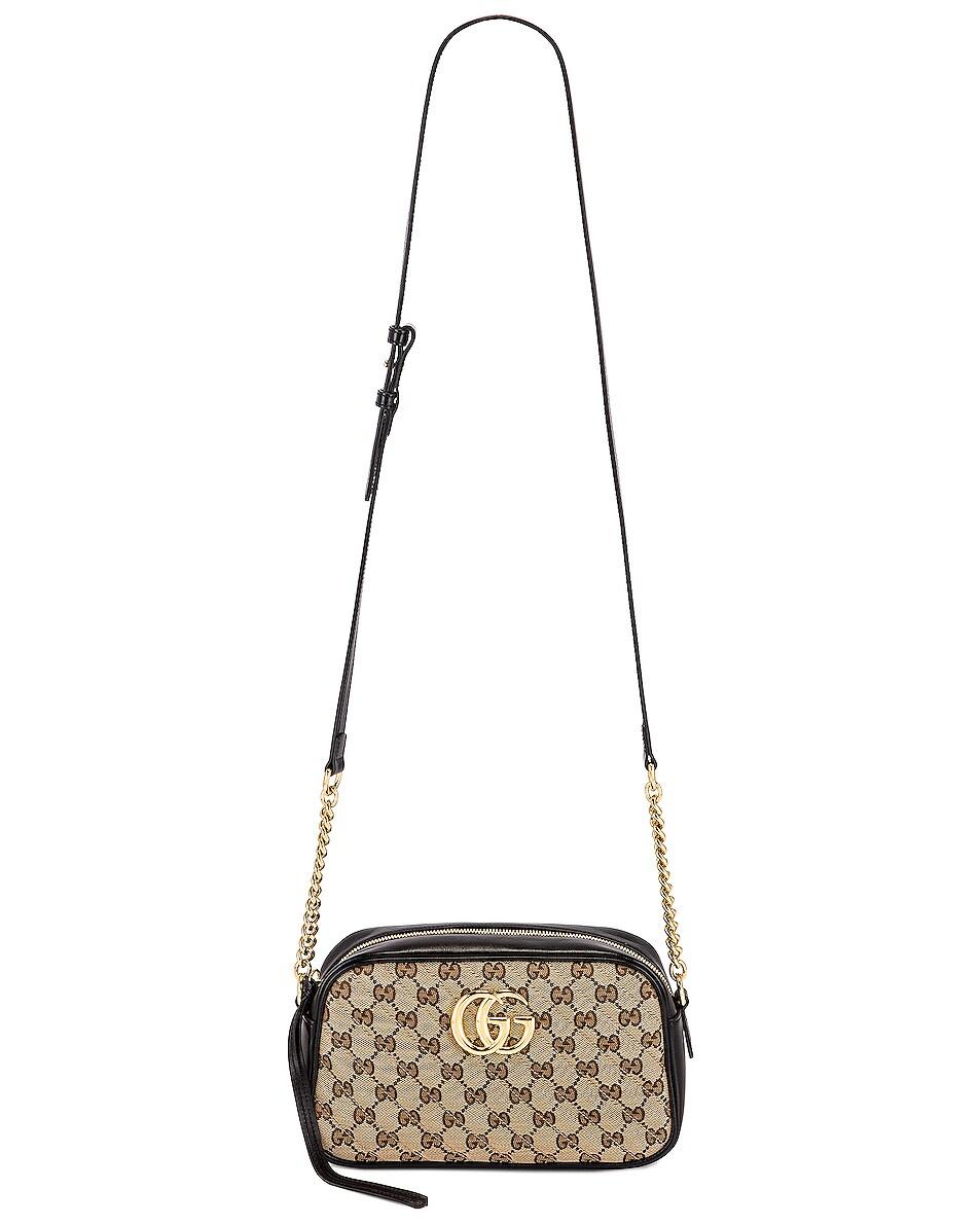 Image 6 of Gucci Shoulder Bag in Beige Ebony & Nero