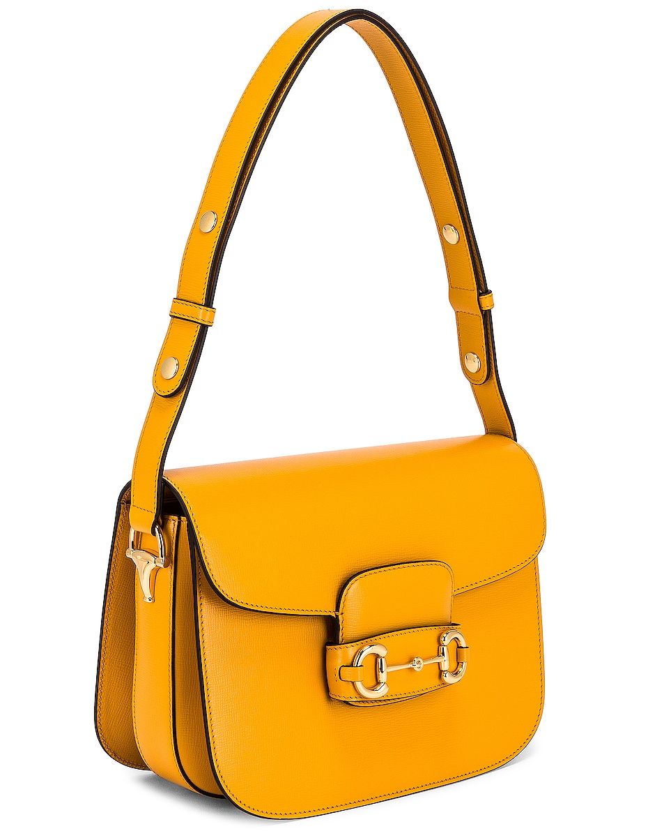 Image 4 of Gucci 1955 Horsebit Shoulder Bag in Crop