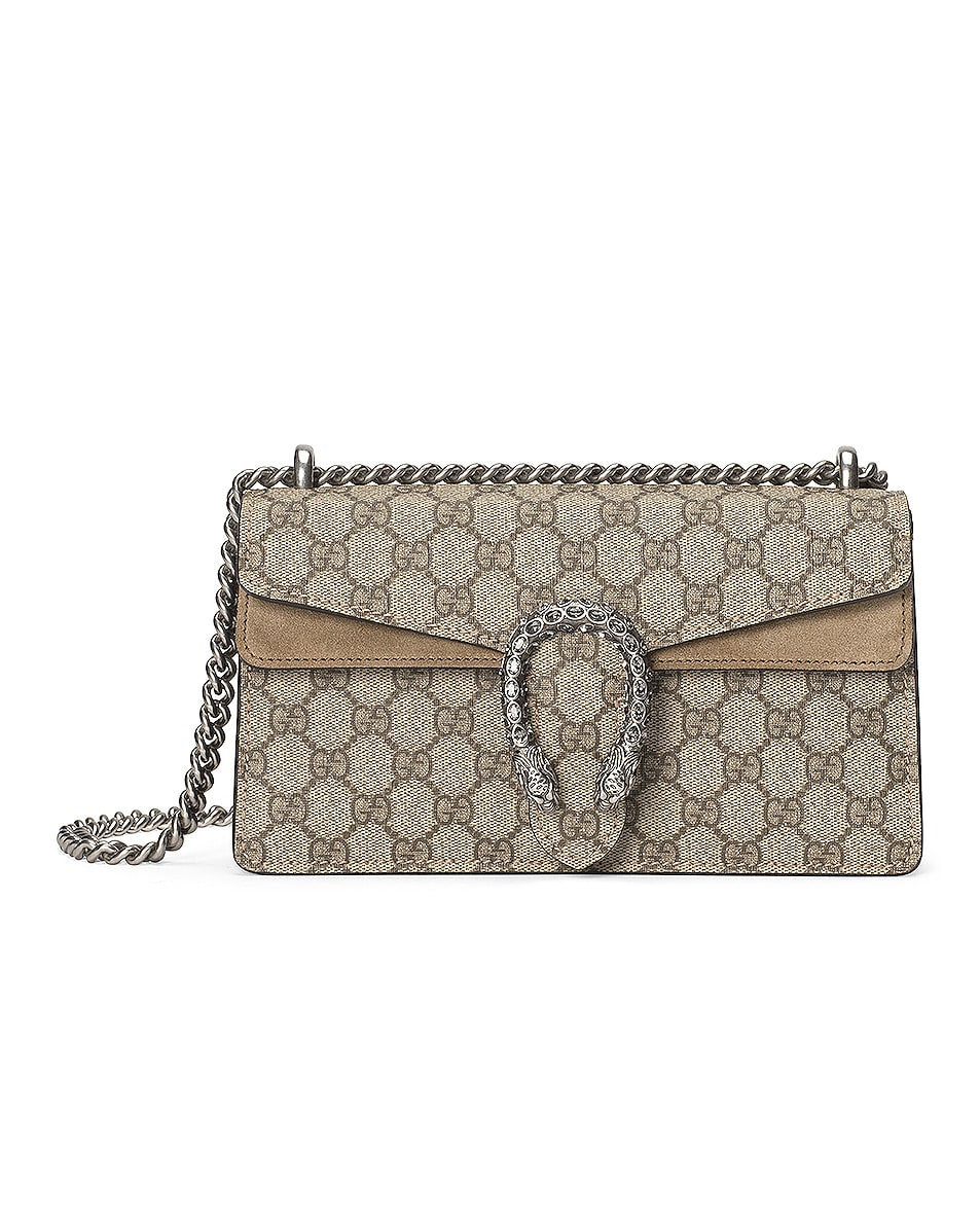 Image 1 of Gucci Dionysus Bag in Beige Ebony & Taupe