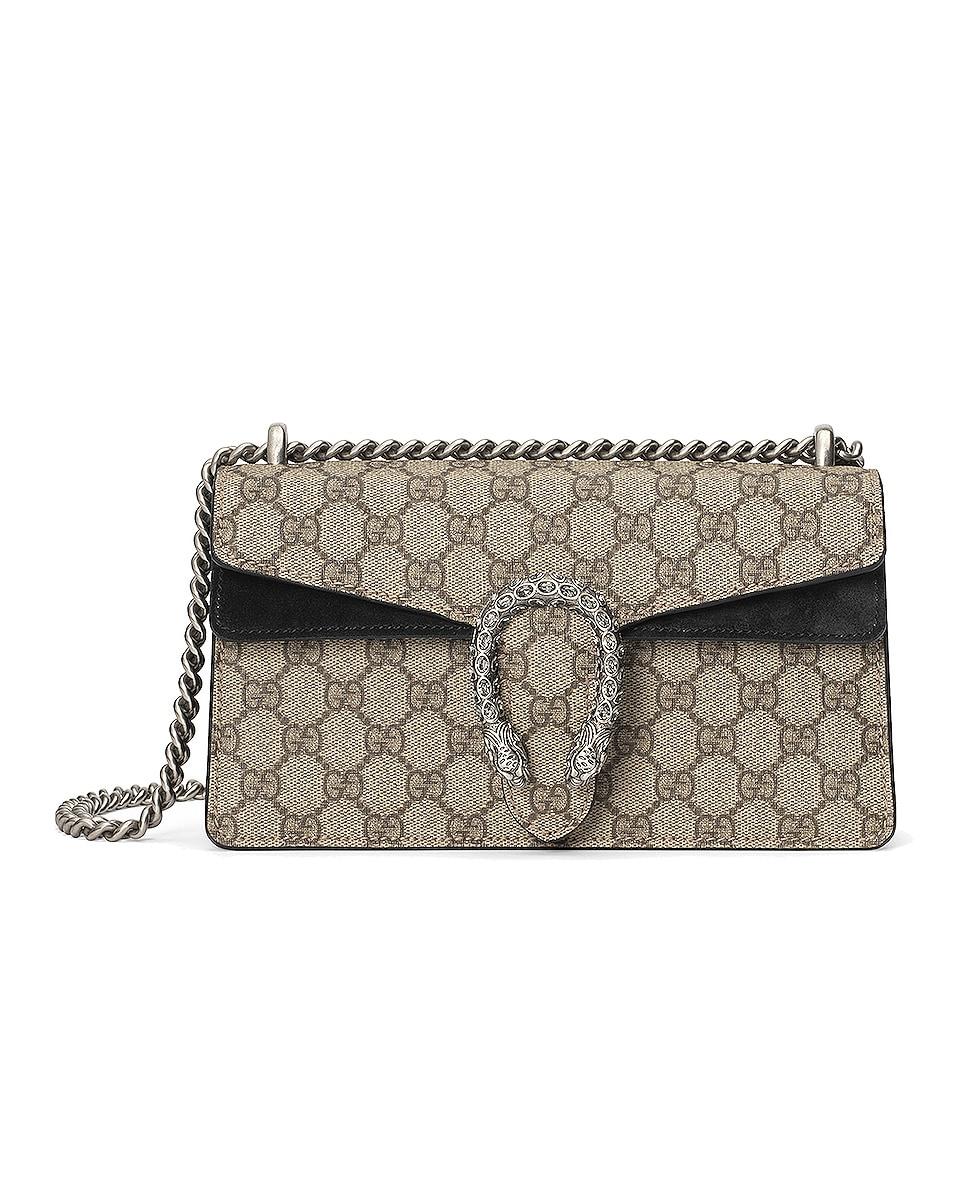 Image 1 of Gucci Dionysus Bag in Beige Ebony & Black