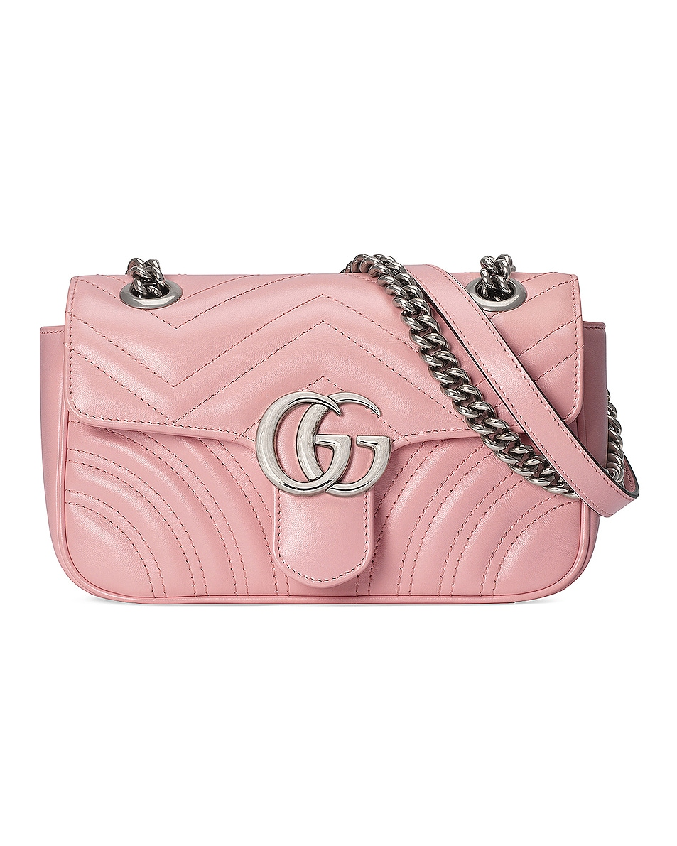 Image 1 of Gucci GG Marmont Bag in Wild Rose